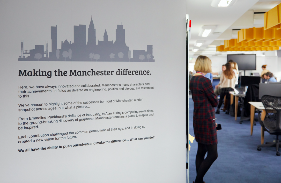 Inside the Manchester office