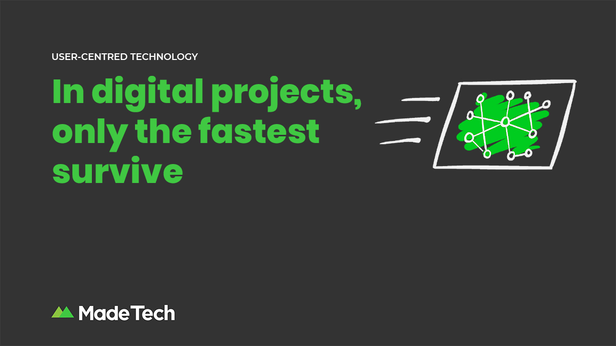 In digital projects, only the fastest survive