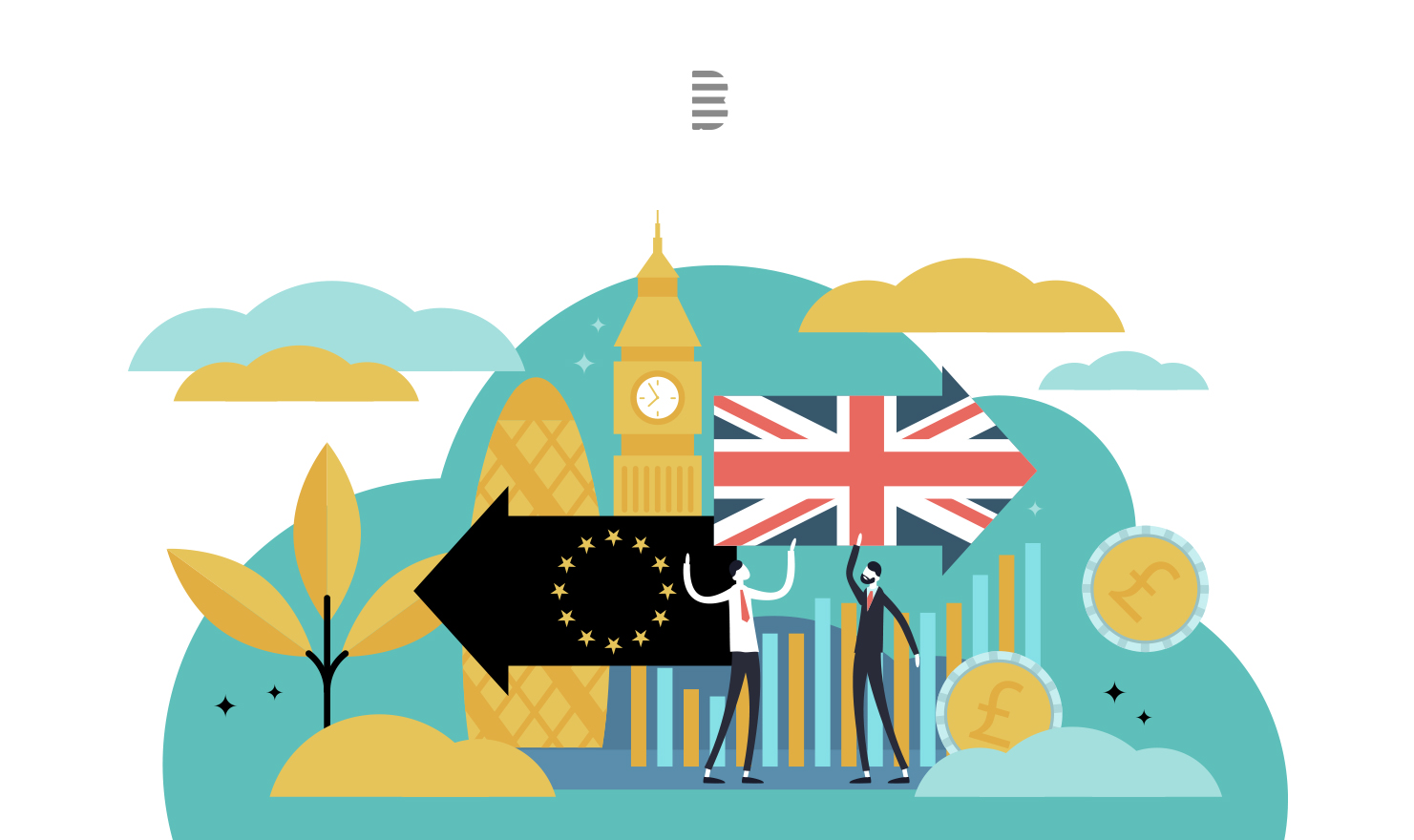 Brexit blog image, the impact of brexit on the tech industry and how tech can keep britain connected during brexit
