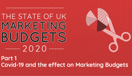 COVID-19 and the effects on marketing budgets